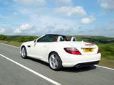 Mercedes-Benz SLK 250 AMG Sports Package UK-spec (R172) 2012 photos