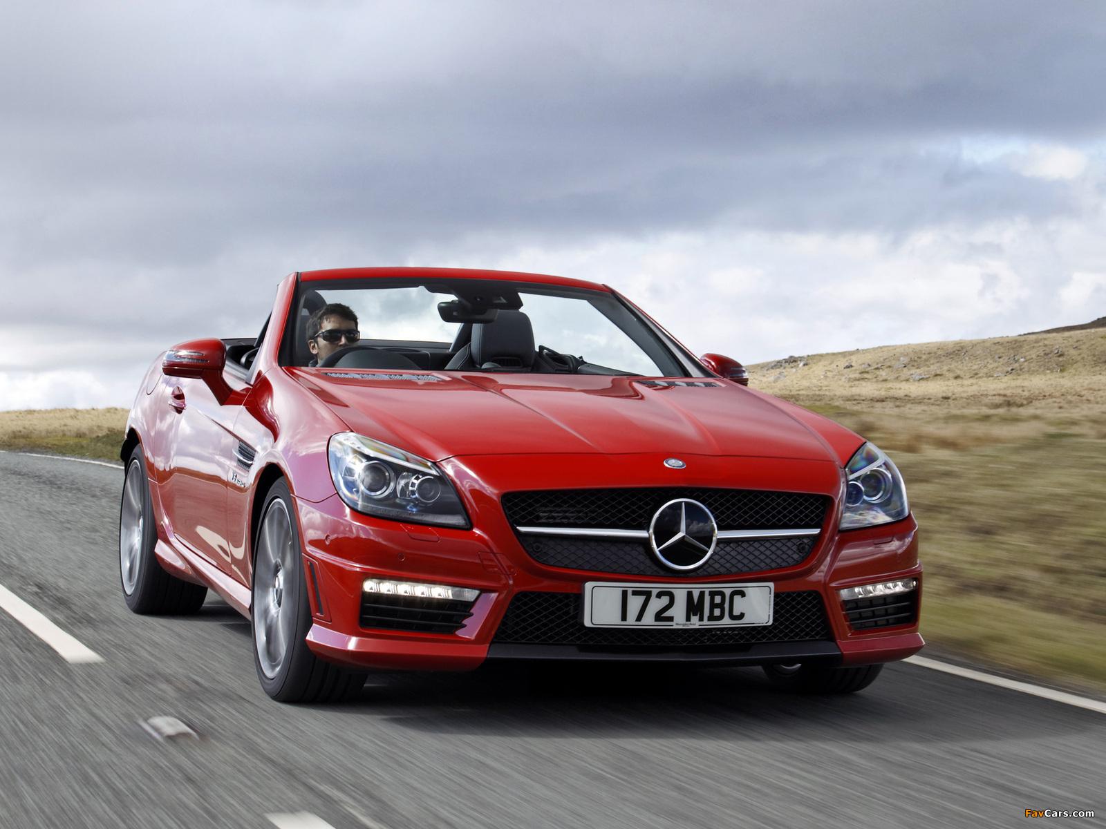 Mercedes benz slk 55 amg uk spec r172 2012 pictures for 2012 mercedes benz slk