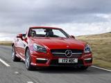 Mercedes-Benz SLK 55 AMG UK-spec (R172) 2012 pictures