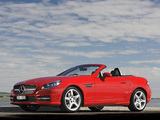 Mercedes-Benz SLK 350 AMG Sports Package AU-spec (R172) 2012 pictures