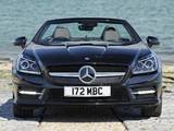 Mercedes-Benz SLK 250 CDI AMG Sports Package UK-spec (R172) 2012 pictures