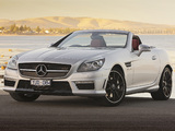 Mercedes-Benz SLK 55 AMG AU-spec (R172) 2012 pictures