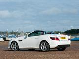 Mercedes-Benz SLK 250 AMG Sports Package UK-spec (R172) 2012 pictures
