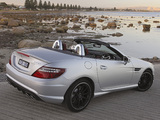 Mercedes-Benz SLK 55 AMG AU-spec (R172) 2012 wallpapers