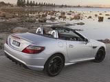 Mercedes-Benz SLK 55 AMG AU-spec (R172) 2012 wallpapers