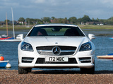Mercedes-Benz SLK 250 AMG Sports Package UK-spec (R172) 2012 wallpapers