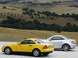 Mercedes-Benz SLK-Klasse wallpapers