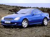 Photos of Mercedes-Benz SLK 200 Kompressor (R170) 1996–2000