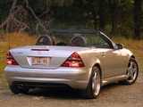 Photos of Mercedes-Benz SLK 320 Sports Package US-spec (R170) 2000–04