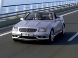 Photos of Mercedes-Benz SLK 32 AMG (R170) 2001–04