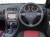 Photos of Mercedes-Benz SLK 55 AMG UK-spec (R171) 2004–08