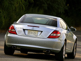 Photos of Mercedes-Benz SLK 280 US-spec (R171) 2005–07