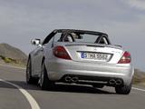 Photos of Mercedes-Benz SLK 55 AMG (R171) 2008–11