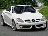 Photos of Mercedes-Benz SLK 300 Diamond White Edition US-spec (R171) 2009
