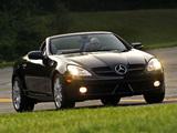 Photos of Mercedes-Benz SLK 300 US-spec (R171) 2009–11