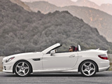 Photos of Mercedes-Benz SLK 250 AMG Sports Package US-spec (R172) 2011