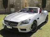 Photos of Mercedes-Benz SLK 55 AMG AU-spec (R172) 2012