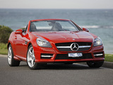 Photos of Mercedes-Benz SLK 350 AMG Sports Package AU-spec (R172) 2012