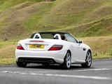 Photos of Mercedes-Benz SLK 250 AMG Sports Package UK-spec (R172) 2012