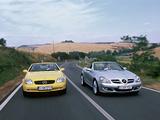 Photos of Mercedes-Benz SLK-Klasse