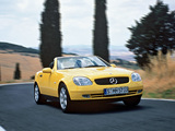 Pictures of Mercedes-Benz SLK-Klasse (R170) 1996–2000