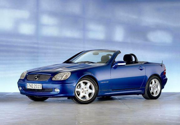 Pictures Of Mercedes Benz Slk 200 Kompressor R170 2000 04
