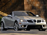 Pictures of Mercedes-Benz SLK 55 AMG US-spec (R171) 2008–11