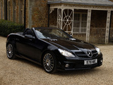 Pictures of Mercedes-Benz SLK 55 AMG UK-spec (R171) 2008–11