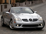 Pictures of Mercedes-Benz SLK 350 Sports Package US-spec (R171) 2008–11