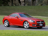 Pictures of Mercedes-Benz SLK 350 AMG Sports Package AU-spec (R172) 2012