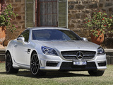Pictures of Mercedes-Benz SLK 55 AMG AU-spec (R172) 2012