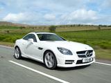 Pictures of Mercedes-Benz SLK 250 AMG Sports Package UK-spec (R172) 2012