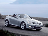 Mercedes-Benz SLK 280 (R171) 2005–07 wallpapers