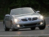 Mercedes-Benz SLK 280 US-spec (R171) 2005–07 wallpapers