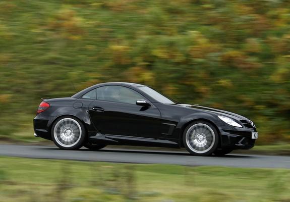 Mercedes benz slk 55 amg black series uk spec r171 2006 for Mercedes benz slk series