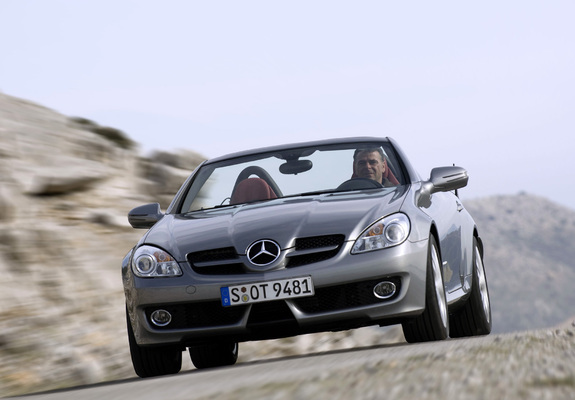 mercedes benz slk 200 kompressor r171 2008 11 wallpapers. Black Bedroom Furniture Sets. Home Design Ideas