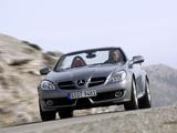 Mercedes-Benz SLK 200 Kompressor (R171) 2008–11 wallpapers