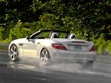 Mercedes-Benz SLK 350 US-spec (R172) 2011 wallpapers