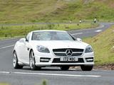Mercedes-Benz SLK 250 AMG Sports Package UK-spec (R172) 2012 wallpapers