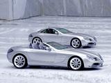 Mercedes-Benz Vision SLR Roadster Concept & Vision SLR Concept 1999 wallpapers