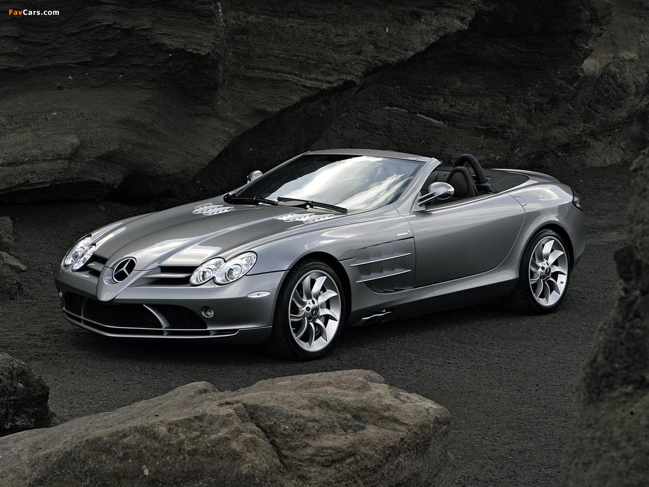 Mercedes Benz Slr Mclaren Roadster R199 2007 09 Pictures