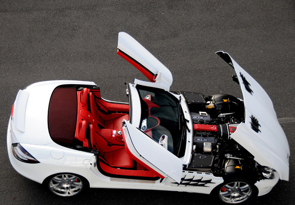brabus mercedes-benz slr mclaren roadster (r199) 2008 pictures