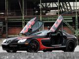 Edo Competition Mercedes-Benz SLR McLaren Black Arrow (C199) 2011 wallpapers