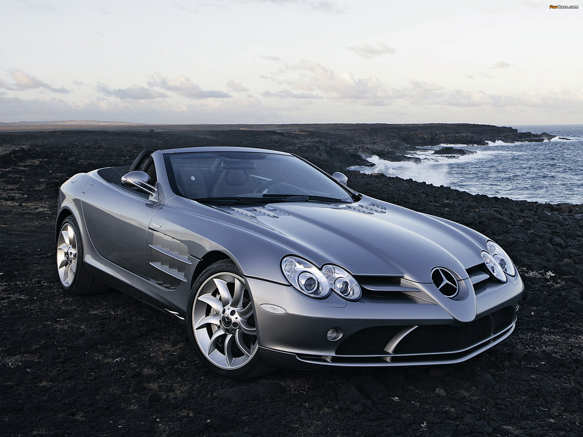 Pictures Of Mercedes Benz Slr Mclaren Roadster R199 2007