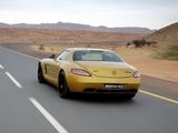 Images of Mercedes-Benz SLS 63 AMG Desert Gold (C197) 2010