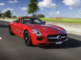 Images of Mercedes-Benz SLS 63 AMG Roadster AU-spec (R197) 2011
