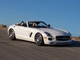Images of Mercedes-Benz SLS 63 AMG GT Roadster US-spec (R197) 2012