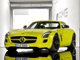 Mercedes-Benz SLS 63 AMG E-Cell Prototype (C197) 2010 images