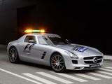 Mercedes-Benz SLS 63 AMG F1 Safety Car (C197) 2010–12 images
