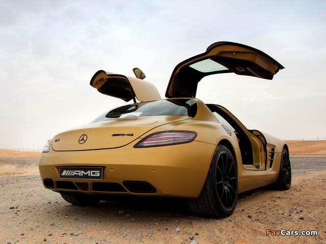 Mercedes-Benz SLS 63 AMG Desert Gold (C197) 2010 photos (640 x 480)